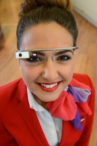 Virgin Atlantic - Google glass